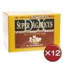 【送料無料】スーパーアガリクスDX 30袋 12個セットβグルカン[健康食品>サプリメント>アガリクス]