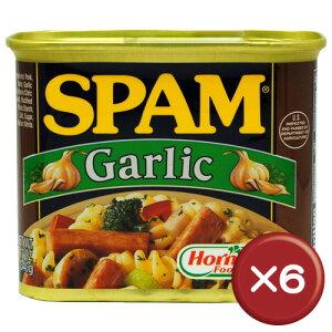 【送料無料】ホーメル スパム(SPAM) ガーリック 6缶セット|沖縄土産|保存食[食べ物>缶詰>ポークランチョンミート]