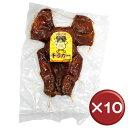 【送料無料】オキハム 味付チラガー 10枚セットコラーゲン|美肌|美容[食べ物>お
