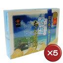 【送料無料】雪塩ちんすこう(大) 48個入 5箱セット|お取り寄せ|プレゼント|宮古島[食べ物>お菓子>ちんすこう]