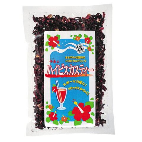 ハイビスカスティー(ローゼル) 100gビタミンC・クエン酸・カリウム|たまご肌|[飲み物>お茶>ハイビスカス茶]