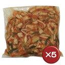 【送料無料】中華イカ(山菜入り) 5袋セット|イカ|烏賊|中華|おつまみ[食べ物>おつまみ>海鮮加工品]