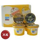【送料無料】Snow Lagoon Ice Cream OKINAWAバラエティパック12個入り【アイスクリーム】 4箱セット アイスクリー...
