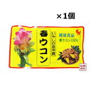 春ウコン粉(袋入り)粉末 100g×1個  国産 沖縄産 パウダー 信頼の老舗 沖縄 比嘉製茶