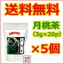 【月桃茶】【比嘉製茶】(3g×20p)×5個 セット / 送料無料 送料込み ポリフェノール 沖縄方言サンニン茶といいます。美容 健康茶 沖縄おみやげ お土産