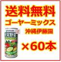 【ゴーヤミックス】沖縄伊藤園 190ml×60缶セット(2ケース) / 送料無料 ゴーヤーミックス ゴーヤ茶より飲みやすいフルーツジュース