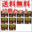 【SPAM スパム】【送料無料】10個セット 沖縄 ポークランチョンミート 缶詰 / 沖縄お土産 SPAM スパム ポーク 缶詰 人気 おすすめスパム SPAM 減塩 340g 送料無料 送料込みポークランチョンミート