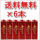 赤松藤 泡盛 紙パック 30度 1800ml/ 【送料無料】6本セット