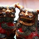 沖縄陶器[工芸品の一点物]シーサーの失敗しない選び方[風水玄関置物]焼物やちむん/ヤチムン[完売御礼・予約受付]年間製作数80対のみの希少なシーサー
