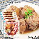 沖縄土産 送料無料 てびちSP(豚足煮込み)600gの5袋パック 【琉球フロント】