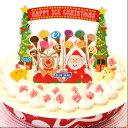 2017年 ブルーシール クリスマスアイスケーキ バニラ【送料無料】【RCP】【分納】4954