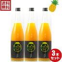 トロピカルパイン 100%720ml3本 セット パインジュース お得 割引 送料無料 無添加 沖縄 パイン 果汁 甘い 美味しい 安心 ジュース