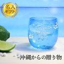 【名入れ 送料無料】トロピカルタルグラス オレンジ/青/水色/緑/紫 約250ml 結婚祝い 父の日...