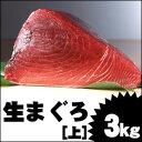 沖縄近海の極上生マグロ[上] 3kg 05P03Dec16