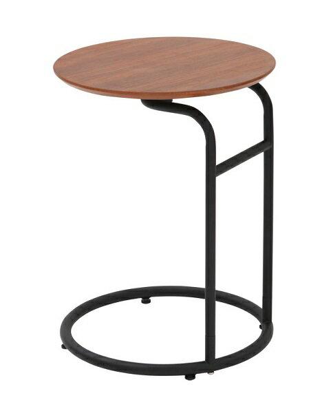 サイドテーブル アイアン テーブル アイアン かわいいブラック ウオールナット突き板 コンソール 台 テーブル エントランステーブルアイアンコンソールテーブル アイアンテーブル