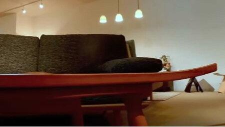 【送料無料】【売れ筋】【オススメ】こたつウォールナット葉っぱ型コタツこたつテーブル家具調モダン北欧座卓センターテーブルローテーブルリビングテーブルオールシーズン