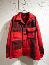 Engineered Garments×WOOLRICH/18AW/Cruiser Jacket/S/RED【中古】