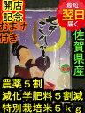 【28年産 新米】佐賀県産特別栽培米(減農薬5割減、化学肥料5割減)七夕コシヒカリ☆白米5kg送料無料※北海道は別途送料\500沖縄一部離島は\1000が掛かります。