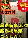 【28年産 新米】新潟県栃尾産コシヒカリ(減農薬米)★玄米30kg(精米無料27kg)送料無料※北海道は別途送料\500沖縄一部離島は\1000が掛かります。