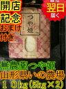 【29年産 無農薬米】山形県いのファームつや姫☆10kg(5...