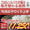 【2月のやりくり上手】島根県産 きぬむすめ(白米30kg|5kg×6袋)【送料無料・28年度産】【白米】