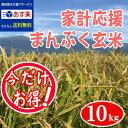 ◎あす楽 29年 玄米 10kg 送料無料『まんぷく玄米』【...