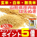 29年産 はえぬき 米 20kg 送料無料【10kgX2袋】...