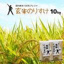 玄米 10kg 送料無料 玄米のりすけ 【家計応援玄米】一部...