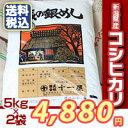 【楽ギフ_のし】【お米】新潟県産コシヒカリ10kg(5kg×2袋) 送料無料 おいしいお米 こしひかり 10キロ