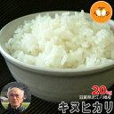 新米 滋賀県近江八幡産 キヌヒカリ 玄米 20kg 産地直送 29年産 内野営農組合 環境こだわり米