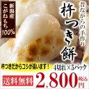 新潟産こがねもち100% 杵つき餅「白餅4切(220g)×5...