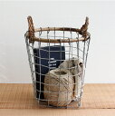 PUEBCO[プエブコ]RATTAN TOP WIRE BASKET(S)