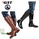 乗馬用品 乗馬ブーツ 合成皮革 ブーツ 長靴 ロングブーツブラック 馬具タウンユースブーツ 乗馬用 乗馬靴 男女兼用ジュニア