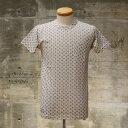 ショッピングSALE品 【セール品】DAPPER'S(ダッパーズ) LOT1321 総柄プリントTシャツ