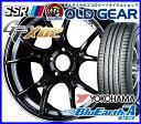 国産タイヤ ホイール 新品 4本セット ◆タナベ SSR GT X02 (GTX02)◆225/45R18 (225/45-18)新品ヨコハマ ブルーアースA AE50 バランス調整済み!