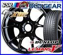 国産タイヤ ホイール 新品 4本セット ◆タナベ SSR GT X02 (GTX02)◆245/45R18 (245/45-18)新品ダンロップ ルマン5 バランス調整済み!