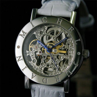 Michelle Jordan both sides skeleton self-winding watch watch EG7325ASW