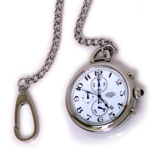 GRANDEUR グランドールエレガンス chronograph function with Pocket Watch OSC012 W1 color / white