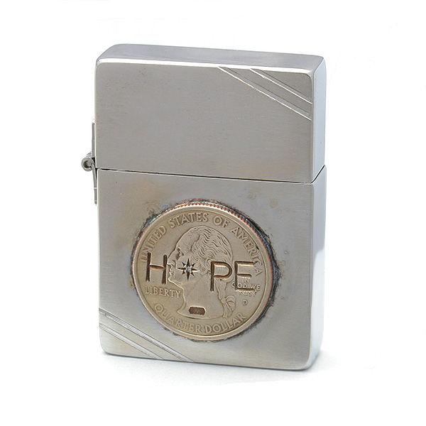 amp japan/アンプジャパン amp×Zippo HOPE ジッポー(1935年復刻モデル仕様) 12ALD-401 【ギフトOK】【smtb-k】【楽ギフ_包装】