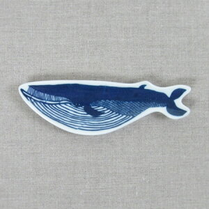 倉敷意匠計画室 KATAKATA 印判手豆皿 クジラ
