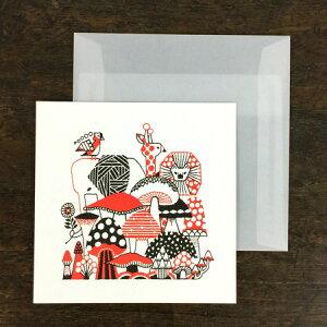 福田利之×水縞 グリーティングカード