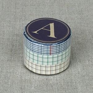 倉敷意匠計画室 方眼マスキングテープ(12mm)3色セット
