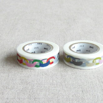 Mt x Mina perhonen masking tape ring