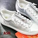 【 日本正規取扱店 】 ASH sneaker スニーカー Nirvana Silver/Silver アッシュ 靴 レディース shoes レザー