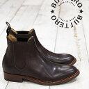 【 セール sale 】 BUTTERO 靴 サイドゴア ショートブーツ boots B482DTCBL13 T.MORO ブラウン レザー ブッテロ レディース
