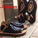 6/9新作入荷 Chubasco AZTEC NAVY COFFEE COFFEE / COFFEE COFFEE BLACK チュバスコ サンダル sandal メンズ mens