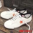 【 こだわりの made in JAPAN 】 ワンスター J コンバース レザー 限定 ホワイト オレンジ CONVERSE ONE STAR J