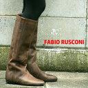 人気モデルの再入荷 FABIO RUSCONI ブーツ レディース ファビオルスコーニ ロングブーツ 98801 VINTARG ビンテージ レザー 【 ファビオ ルスコーニ の人気モデル】