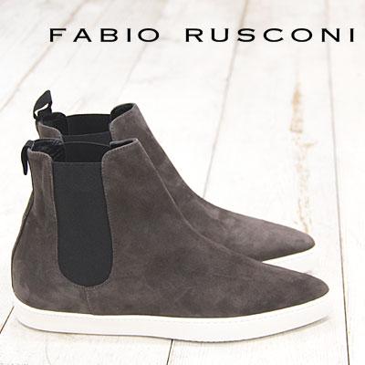 【 期間限定 セール sale 〜2016/12/08まで 】 FABIO RUSCONI sneaker 2522 ファビオ ルスコーニ フラット スニーカー スリッポン ショートブーツ サイドゴアブーツ boots ファビオルスコーニ ポインテッド