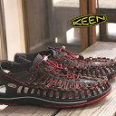 KEEN サンダル sandal UNEEK STRIPES 1014620(RED DAHLIA/RAYA) キーン ユニーク ストライ
